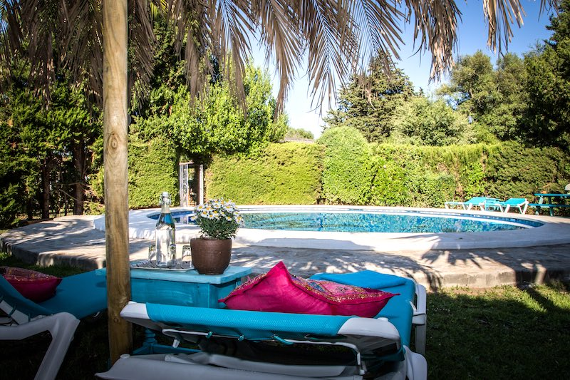 boutiquehotel pool andalusien
